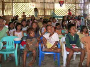 Children at Garbage dump