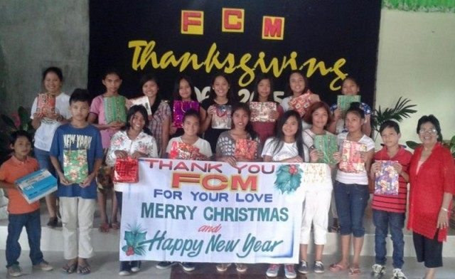 """Thank You, FCM, for your love! Merry Christmas and Happy !"""